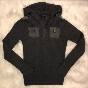 Calvin Klein Jeans Quarter Zip Sweater | Large